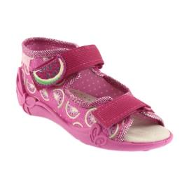 Pantofi pentru copii galbeni de la Befado 342P004 roz 2