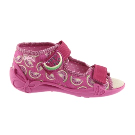 Pantofi pentru copii galbeni de la Befado 342P004 roz 1