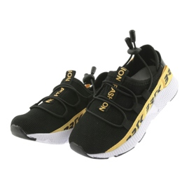 Pantofi sport Bartek negru 55109 piele branțată 3