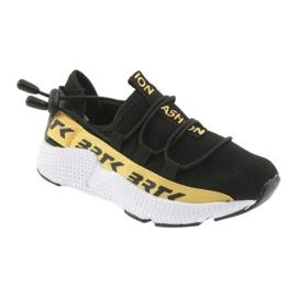 Pantofi sport Bartek negru 55109 piele branțată 1
