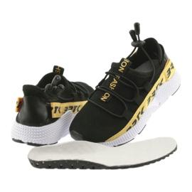 Pantofi sport Bartek negru 55109 piele branțată 4