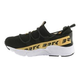 Pantofi sport Bartek negru 55109 piele branțată 2