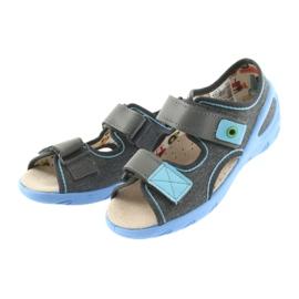 Pantofi pentru copii Befado pu 065X125 albastru gri 4