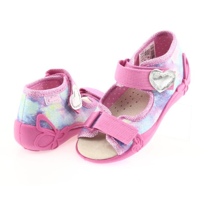 Pantofi de copii galbeni de la Befado 342P005 imagine 5