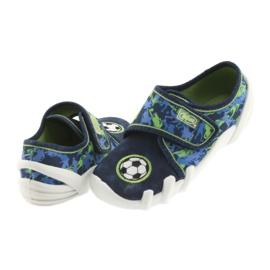 Încălțăminte pentru copii Befado 273X258 Soft-B albastru verde albastru marin 4