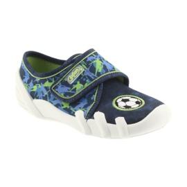 Încălțăminte pentru copii Befado 273X258 Soft-B albastru verde albastru marin 1