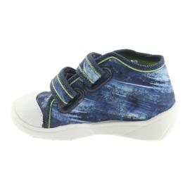 Pantofi pentru copii Befado ball 212P058 albastru verde albastru marin 2