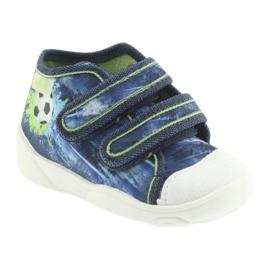 Pantofi pentru copii Befado ball 212P058 albastru verde albastru marin 1