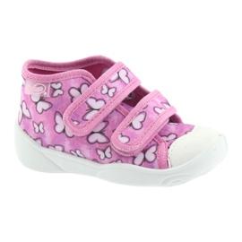 Încălțăminte pentru copii Befado 212P060 violet roz 1
