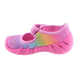 Pantofi pentru copii Befado curcubeu 109P183 multicolor 2