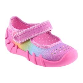 Pantofi pentru copii Befado curcubeu 109P183 multicolor 1