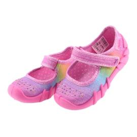 Pantofi pentru copii Befado curcubeu 109P183 multicolor 3