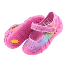 Pantofi pentru copii Befado curcubeu 109P183 multicolor 4