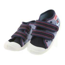 Adidași Befado încălțăminte pentru copii 212P057 roșu albastru marin albastru 3
