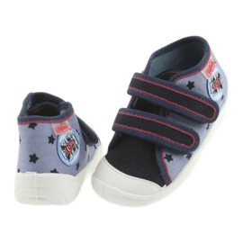 Adidași Befado încălțăminte pentru copii 212P057 roșu albastru marin albastru 4