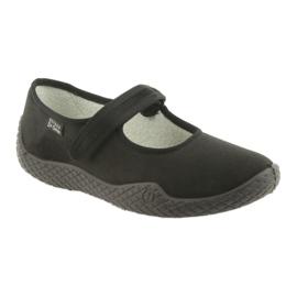 Befado femei pantofi - tineri 197D002 negru 2