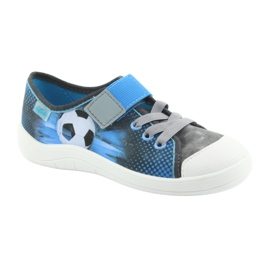 Pantofi pentru copii Befado ball 251Y120 albastru gri albastru marin 1