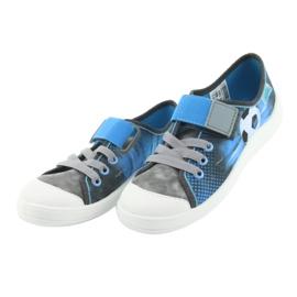 Pantofi pentru copii Befado ball 251Y120 albastru gri albastru marin 3