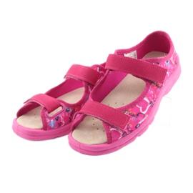 Încălțăminte pentru copii Befado 869X132 albastru galben roz 3