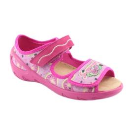 Pantofi pentru copii Befado pu 433X030 verde galben roz 1