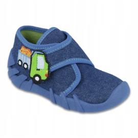 Încălțăminte pentru copii Befado 523P012 albastru marin albastru 1