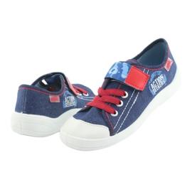 Încălțăminte pentru copii Befado 251Y101 roșu albastru marin albastru 4