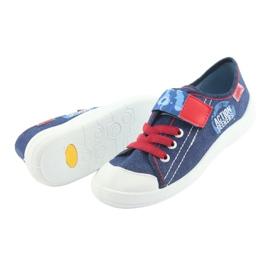 Încălțăminte pentru copii Befado 251Y101 roșu albastru marin albastru 5