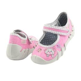 Încălțăminte pentru copii Befado 109P180 gri roz 4