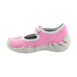 Încălțăminte pentru copii Befado 109P180 gri roz 2
