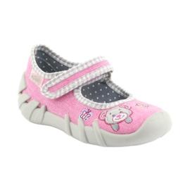 Încălțăminte pentru copii Befado 109P180 gri roz 1