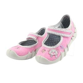 Încălțăminte pentru copii Befado 109P180 gri roz 3