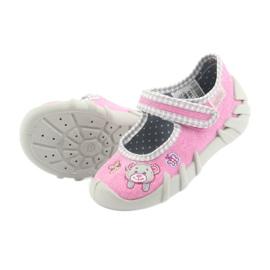 Încălțăminte pentru copii Befado 109P180 gri roz 5