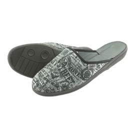 Pantofi pentru tineret Befado 201Q091 negru gri 4
