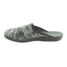 Pantofi pentru tineret Befado 201Q091 negru gri 2