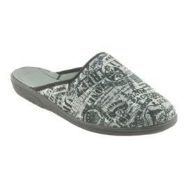 Pantofi pentru tineret Befado 201Q091 negru gri 1