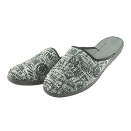Pantofi pentru tineret Befado 201Q091 negru gri 3
