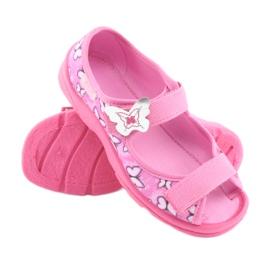 Încălțăminte pentru copii Befado 969X134 violet roz 3
