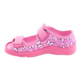 Încălțăminte pentru copii Befado 969X134 violet roz 2