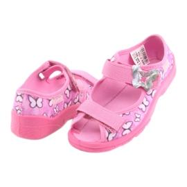 Încălțăminte pentru copii Befado 969X134 violet roz 4