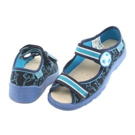 Încălțăminte pentru copii Befado 869Y130 albastru albastru marin 5