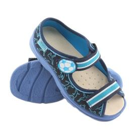 Încălțăminte pentru copii Befado 869Y130 albastru albastru marin 3