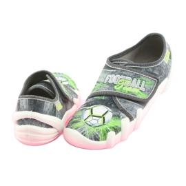 Încălțăminte pentru copii Befado 273Y254 negru gri verde 4