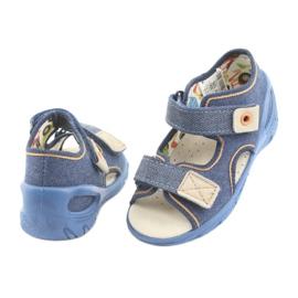 Încălțăminte pentru copii Befado pu 065P126 maro albastru marin 4