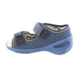 Încălțăminte pentru copii Befado pu 065P126 maro albastru marin 2