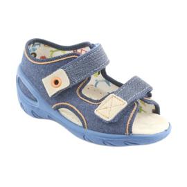 Încălțăminte pentru copii Befado pu 065P126 maro albastru marin 1