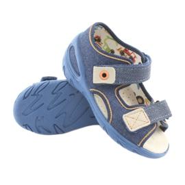 Încălțăminte pentru copii Befado pu 065P126 maro albastru marin 3
