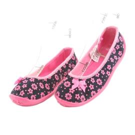 Încălțăminte pentru copii Befado 980X093 negru roz 3