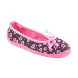 Încălțăminte pentru copii Befado 980X093 negru roz 1