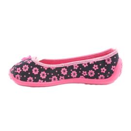 Încălțăminte pentru copii Befado 980X093 negru roz 2