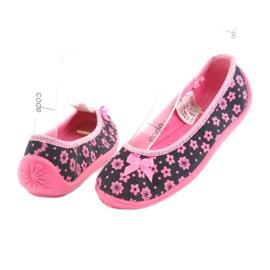 Încălțăminte pentru copii Befado 980X093 negru roz 4